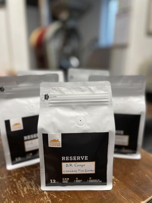 whole bean coffee bag d.r. congo reserve roast