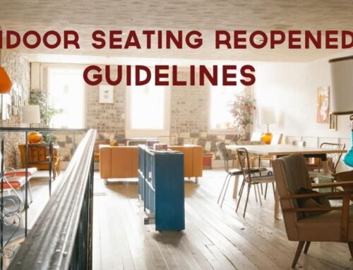 Indoor Seating Reopened! Guidelines